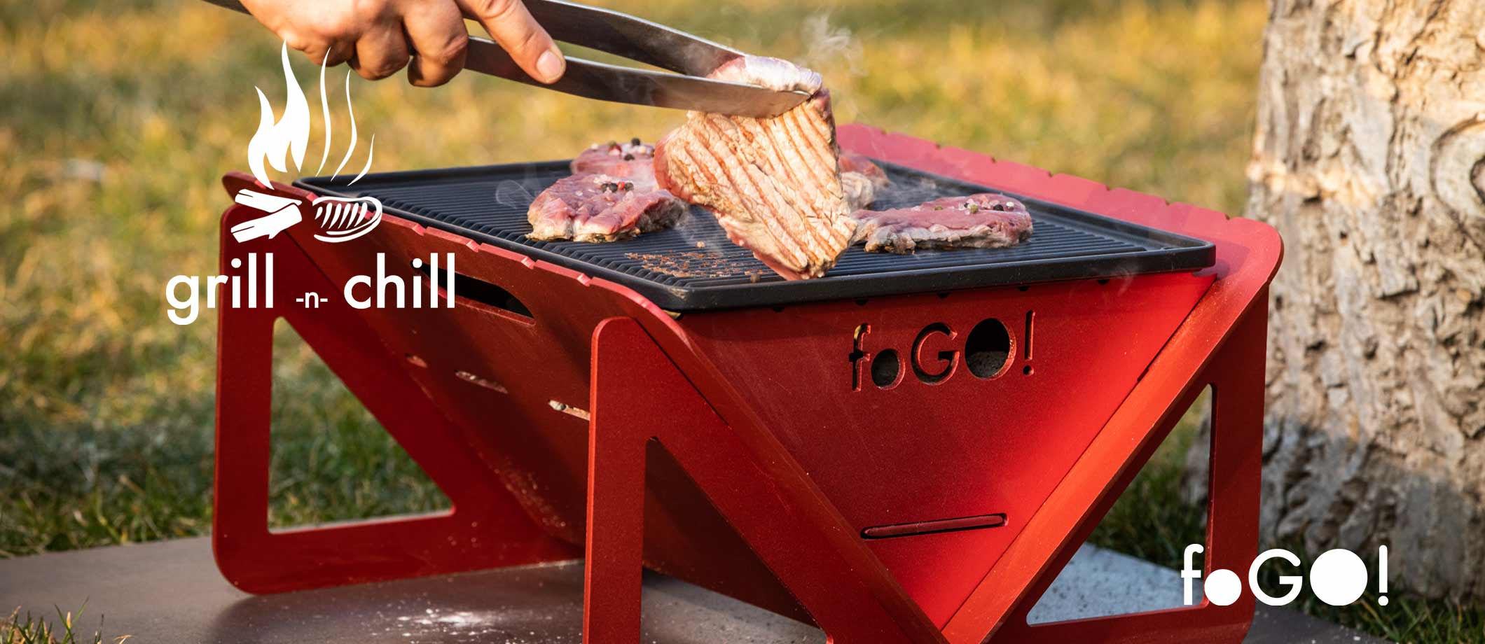 foGO gril red