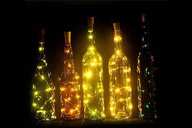 LED světýlka do lahve - návod na výrobu lampičky