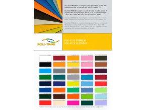 Poli - Flex, barevné - šíře 0,50 m