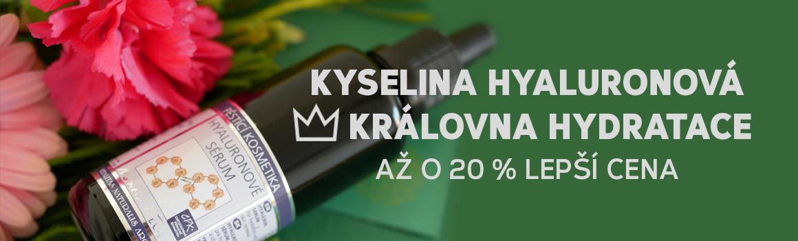 Kyselina hyaluronová ♕ královna hydratace až o 20 % lepší cena
