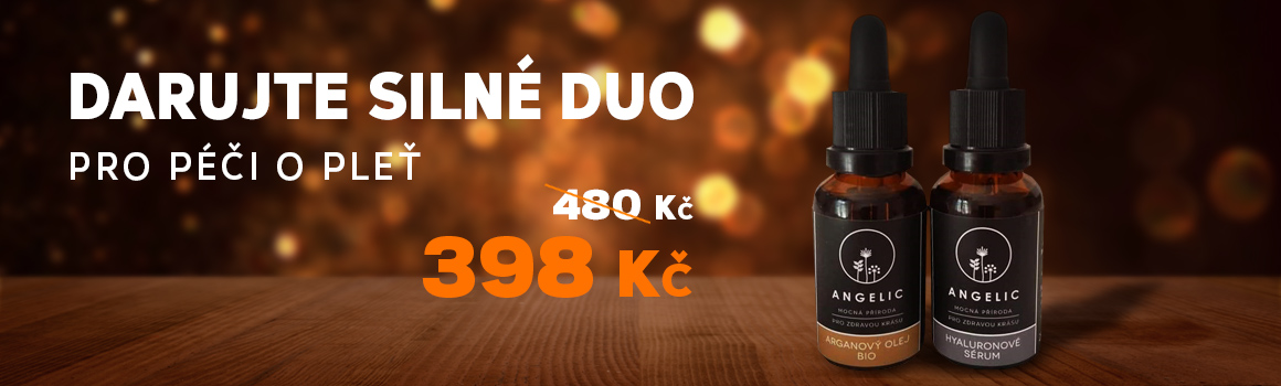 Výhodné combo Angelic - Hyaluronové sérum a Arganový olej