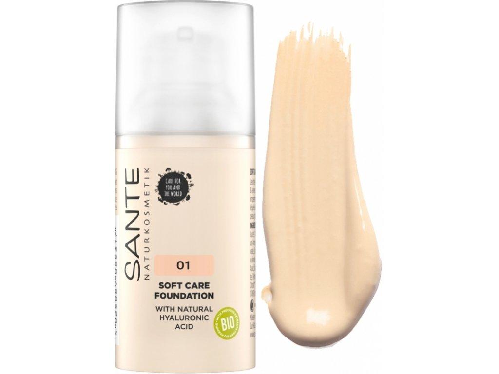 Sante Jemný krémový make-up 01 porcelán 30 ml