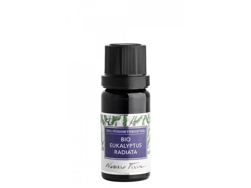 Nobilis Tilia Éterický olej BIO Eukalyptus Radiata 10ml