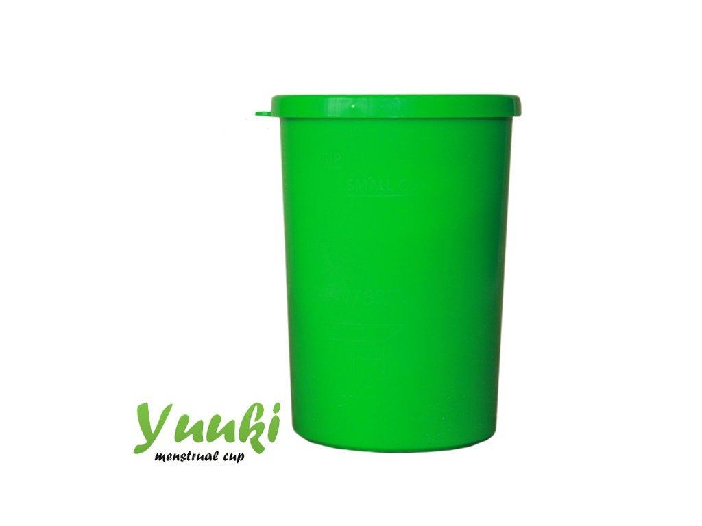 Yuuki Sterilizační kelímek Yuuki - zelený
