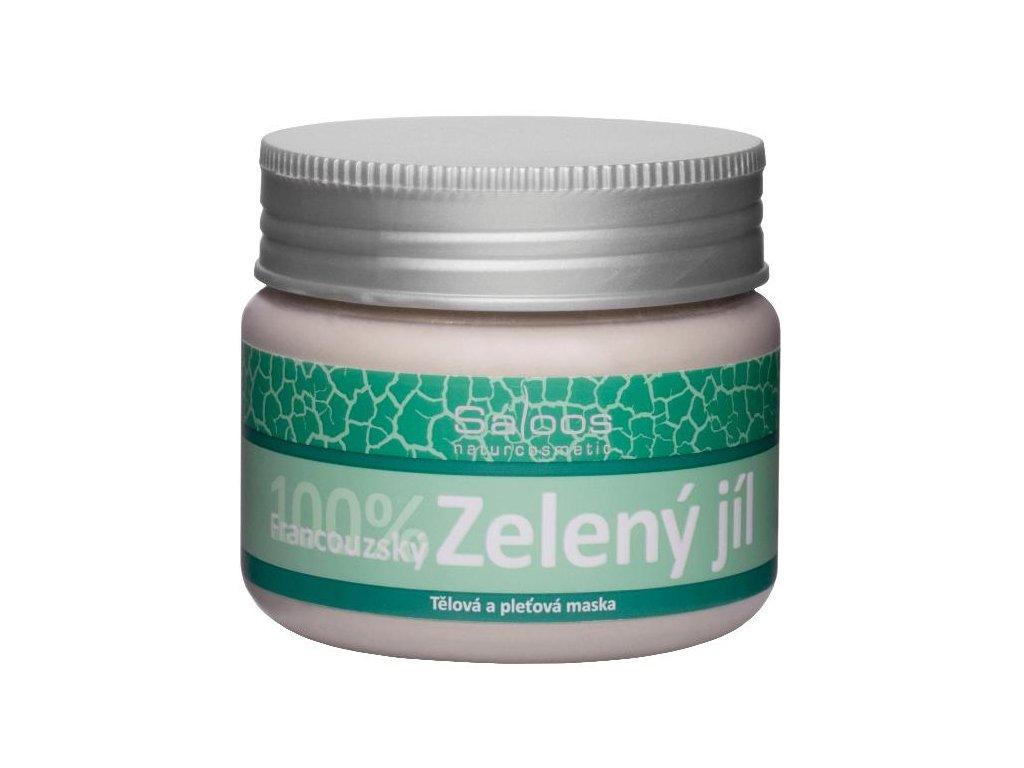 Saloos Tělová a pleťová maska Green Clay 80 g