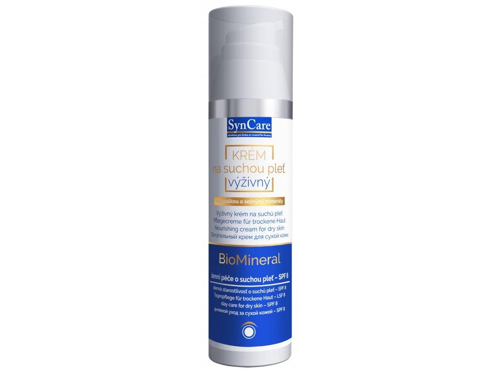 Syncare BioMineral Výživný krém s UV filtrem 75 ml