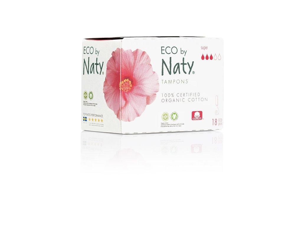 Naty Nature Dámské ECO tampóny Super 18 ks