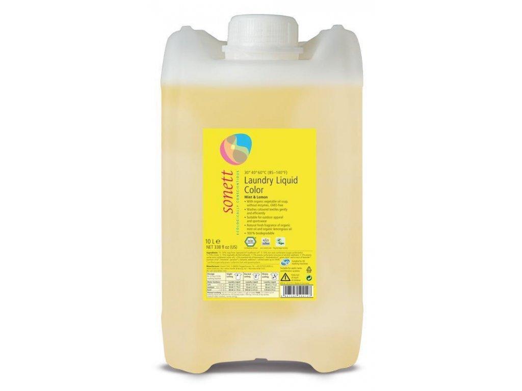 Sonett Prací gel na barevné prádlo 5l