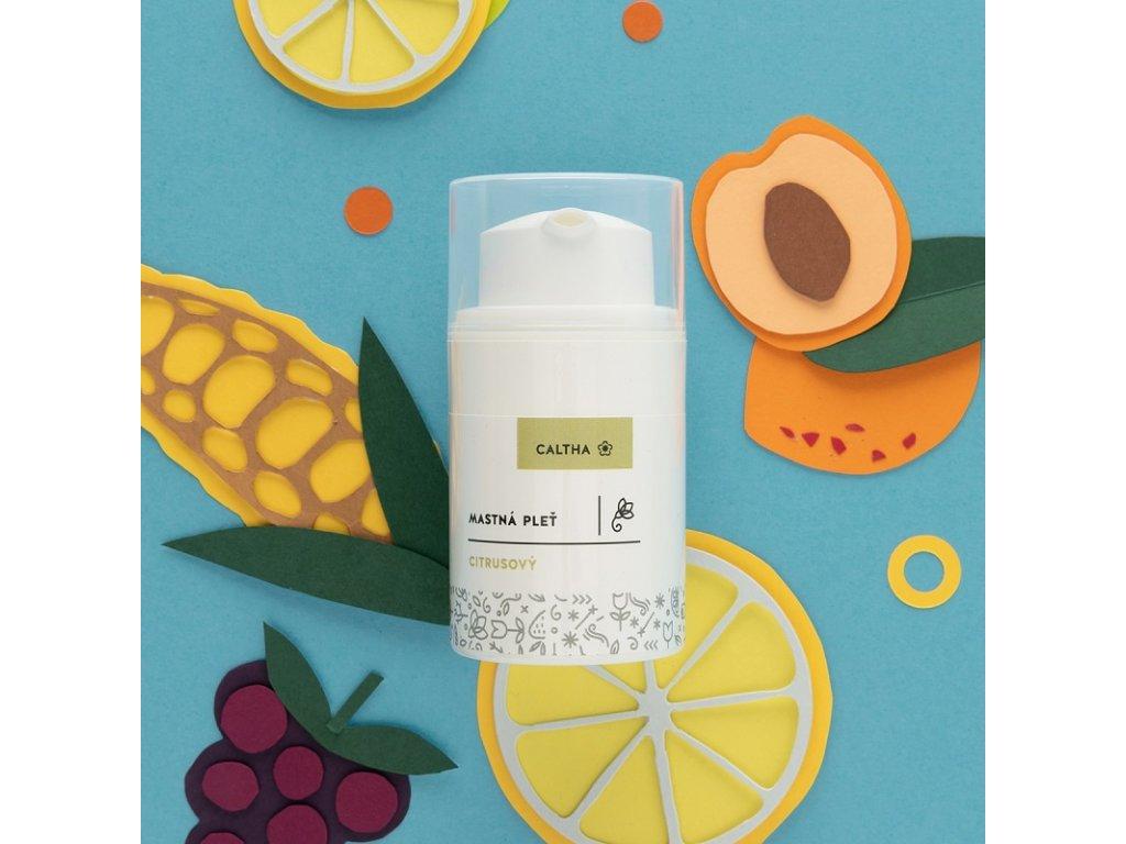 Caltha Pleťový citrusový krém 50 ml
