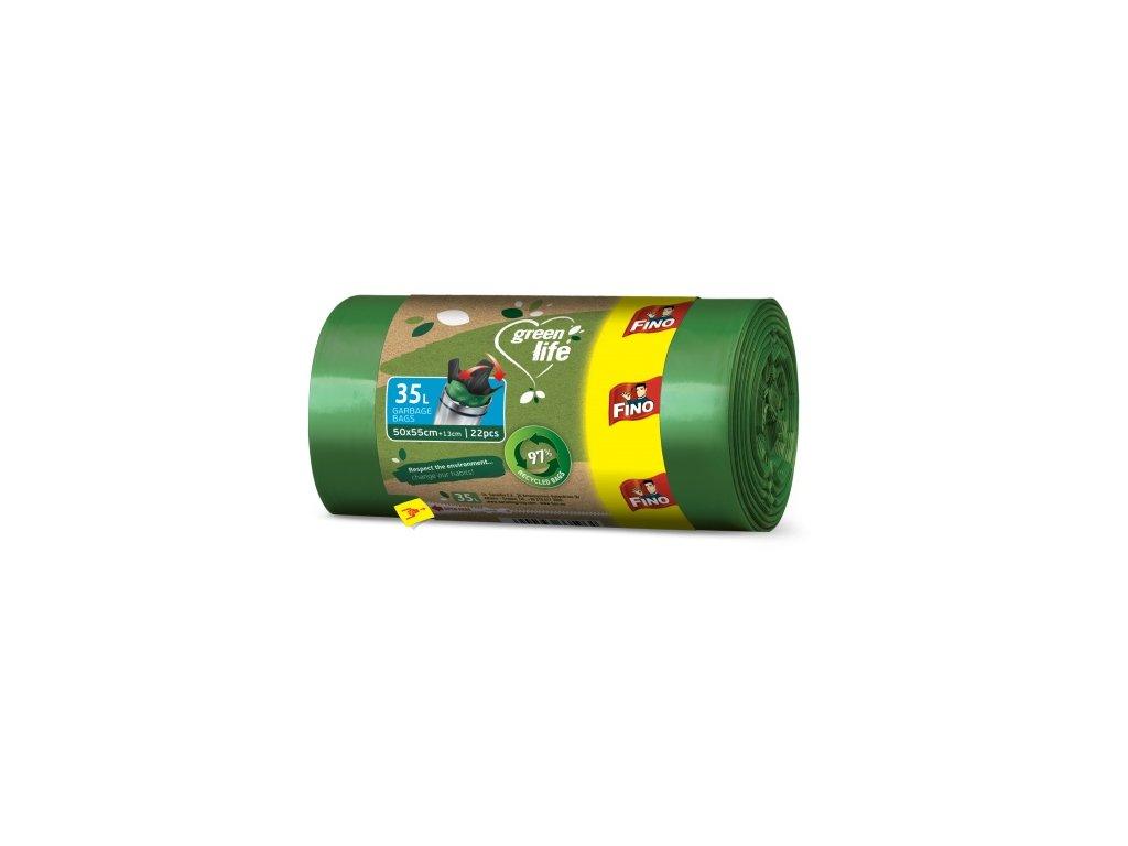 fino pytle na odpad green life 35l