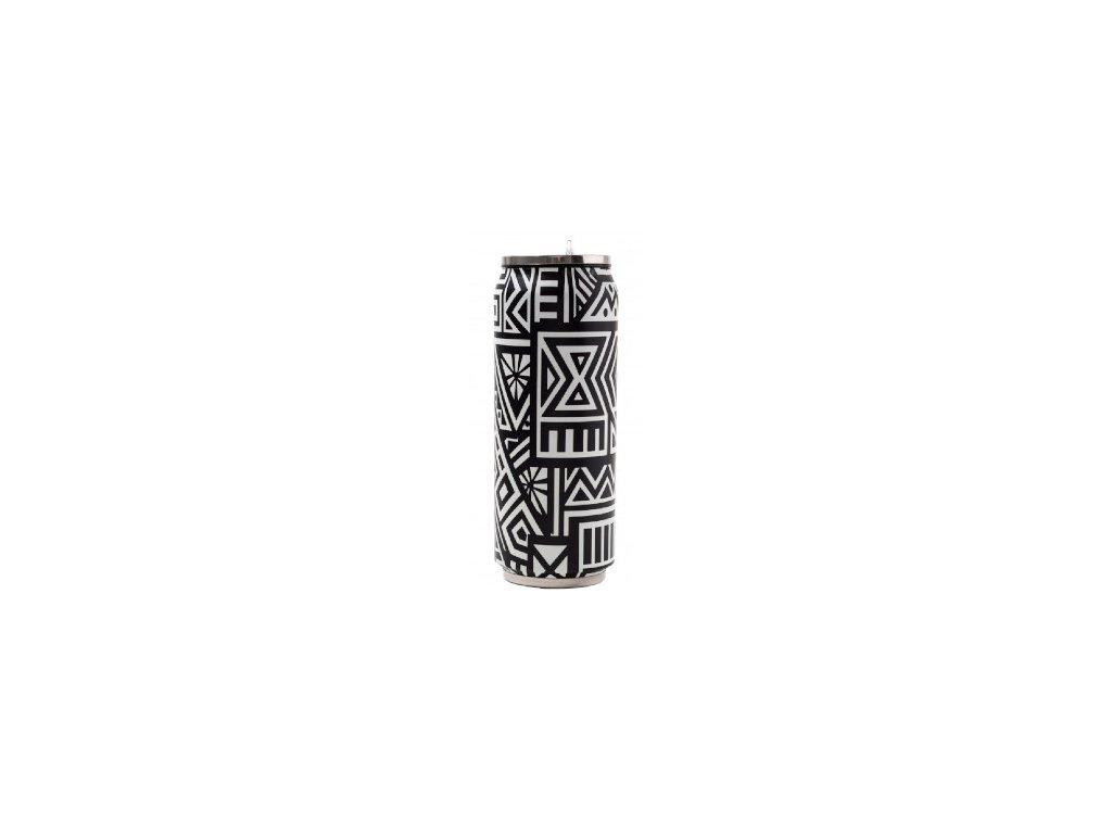 Yoko Design Termohrnek 500 ml Ethnique černá