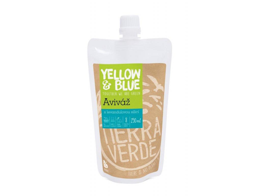 Yellow & Blue Aviváž s levandulovou silicí 250ml