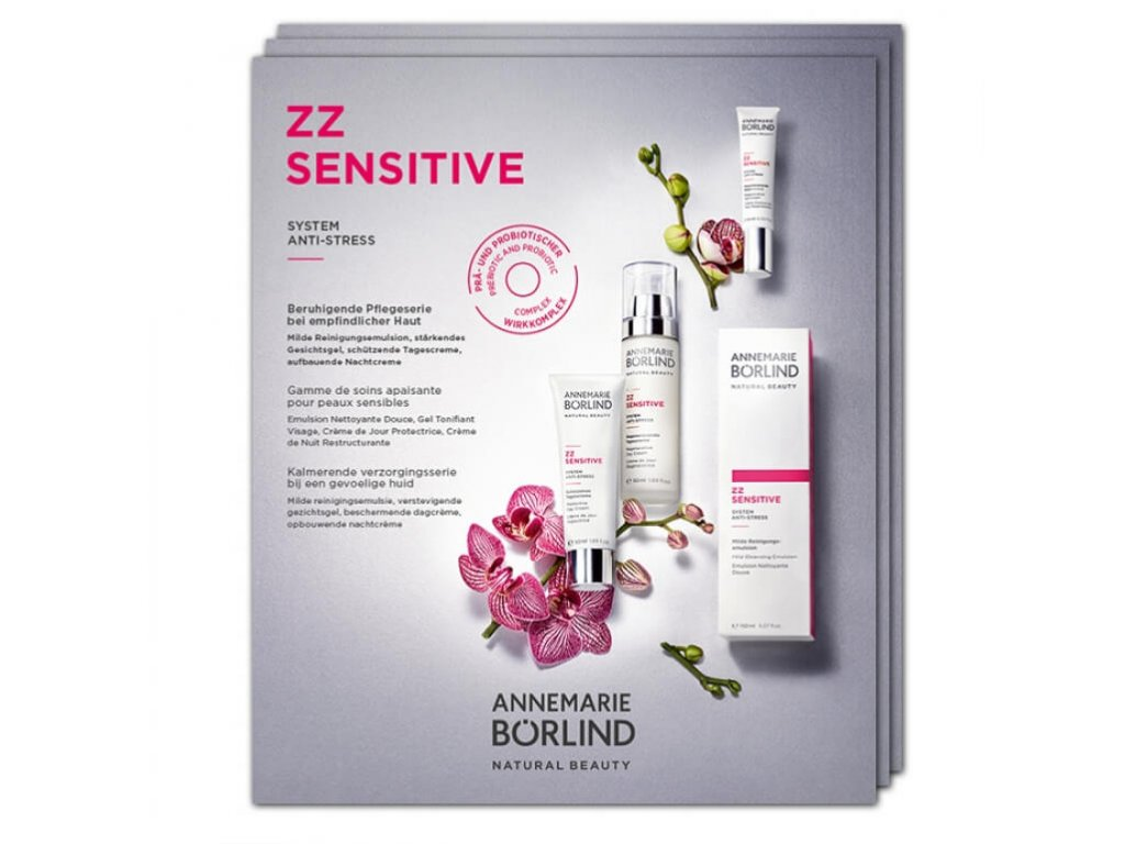 Annemarie Börlind Vzorek ZZ Sensitive System pro mladou a citlivou pleť 4x2ml