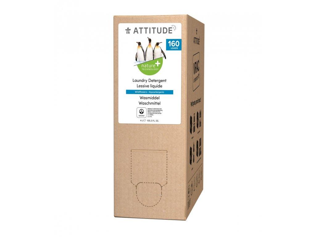 Attitude Prací gel s vůní lučního kvítí 4 l