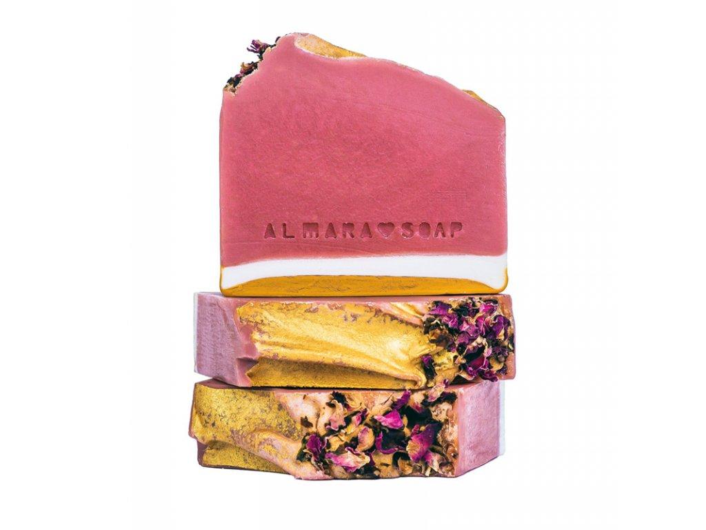 Almara Soap Přírodní tuhé mýdlo Růžový grep 100 +- 5 g