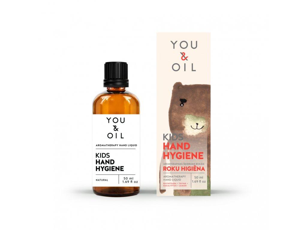 You & Oil Přírodní čistící prostředek na ruce pro děti 50 ml