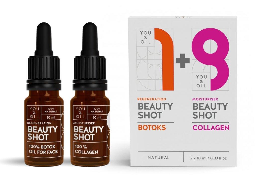 You & Oil Dárková sada Beauty Shots Kolagen & Botox