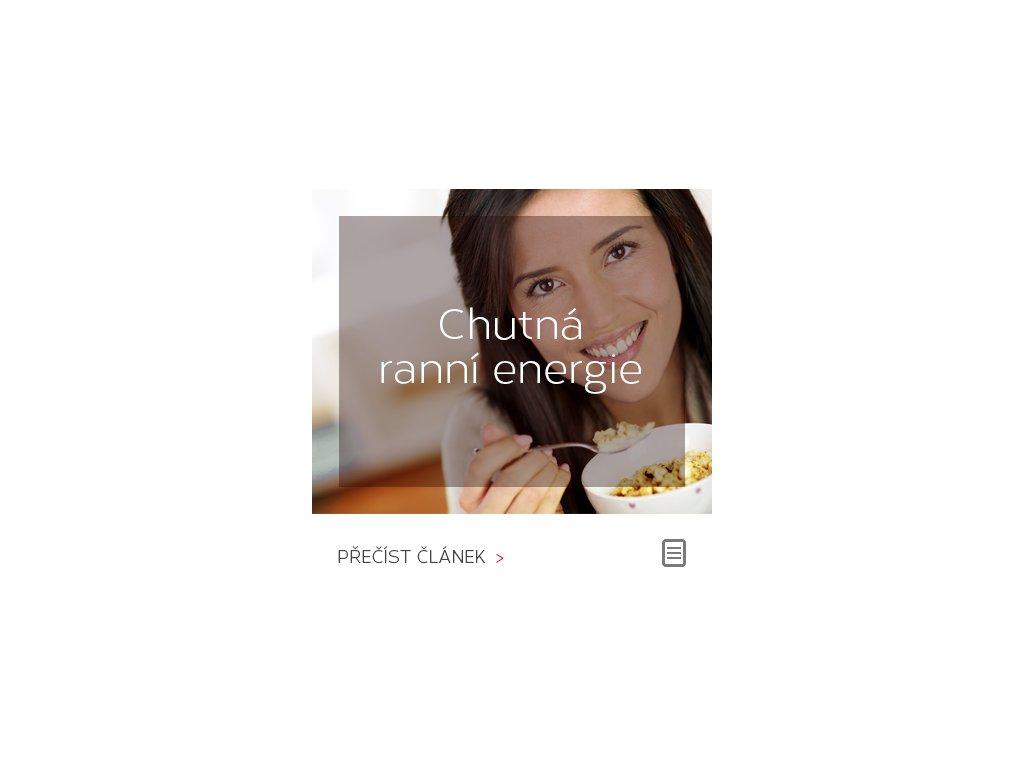 Chutná ranní energie