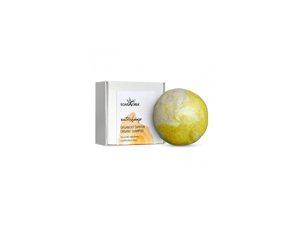Soaphoria Tuhý šampon na poškozené vlasy NutriShamp 60 +/-5 g
