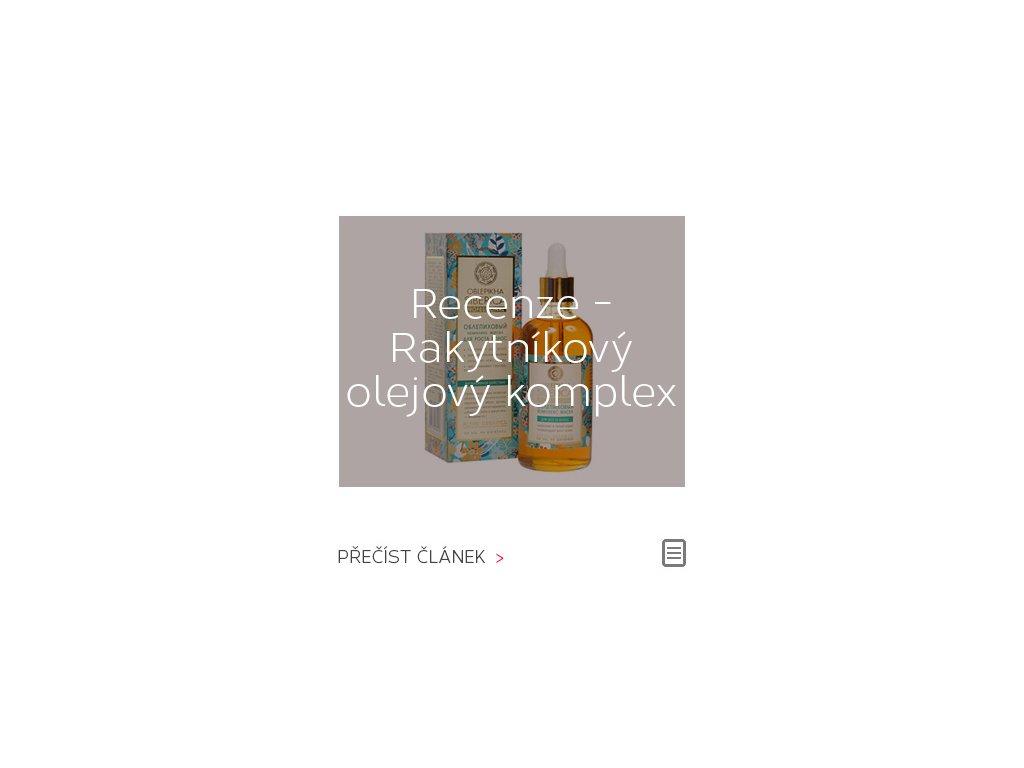 Recenze: Rakytníkový olejový komplex pro růst vlasů