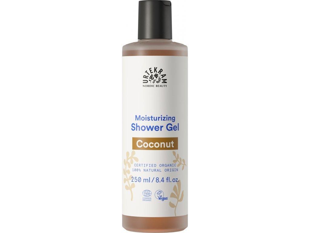 Urtekram Sprchový gel kokos Bio 250 ml