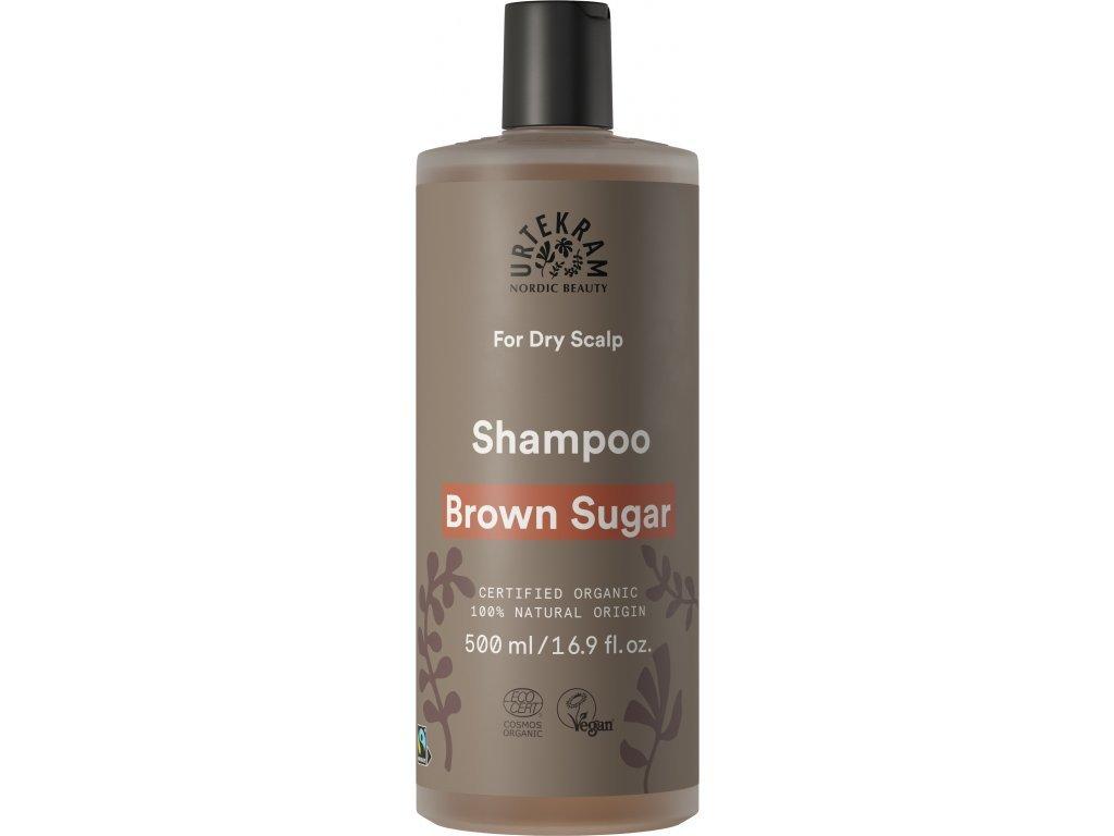 Urtekram Šampón na objem vlasů Brown sugar Bio 500 ml