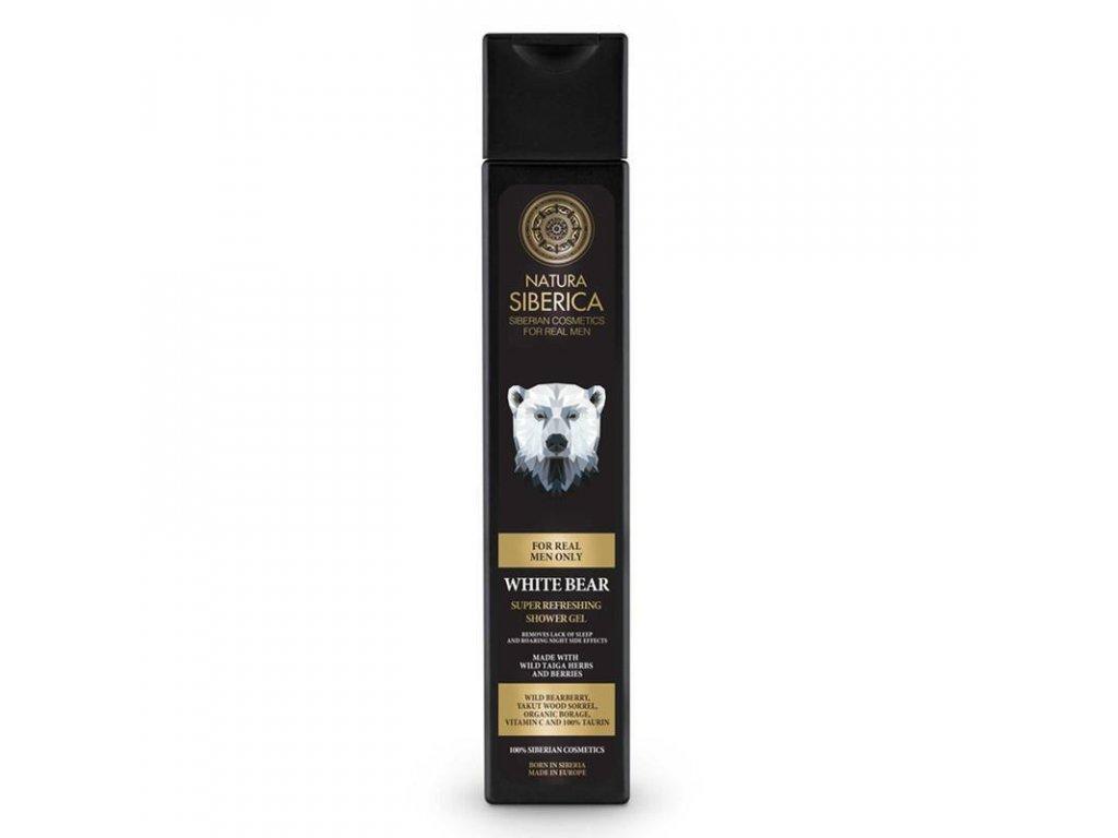 Natura Siberica Super osvěžující sprchový gel Lední medvěd 250 ml