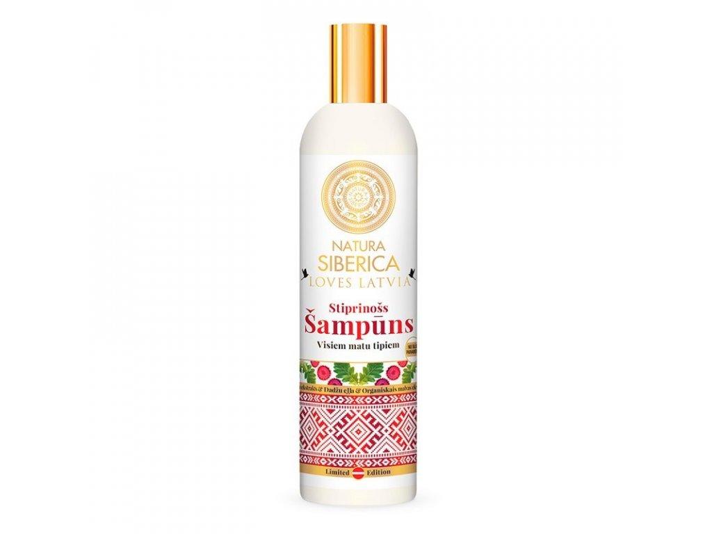 Natura Siberica Loves Latvia Zpevňující šampón 400 ml