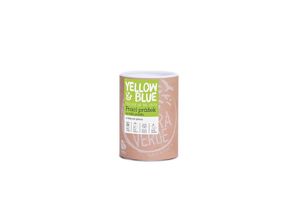 Prací prášek z mýdlových ořechů na bílé prádlo a látkové pleny 850g