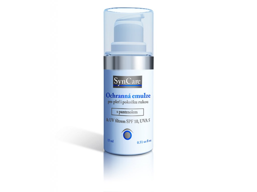 Syncare Ochranná emulze pro velmi suchou pleť s UV filtrem 15ml
