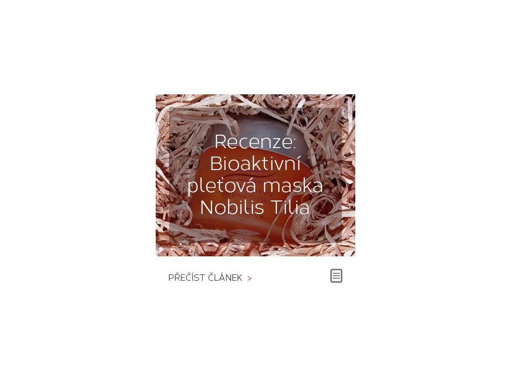Recenze: Bioaktivní pleťová maska Nobilis Tilia