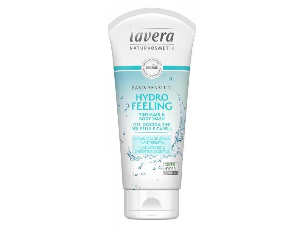 Lavera Basis sprchový gel na tělo i vlasy 200ML
