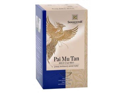 Sonnentor Bílý čaj Pai Mu Tan BIO porcovaný 18g