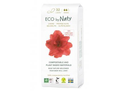 Naty Nature Dámské ECO slipové vložky Normal 32ks