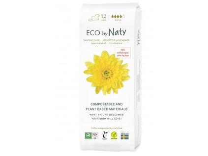 Eco by Naty Dámské ECO vložky Super s křidélky 12 ks