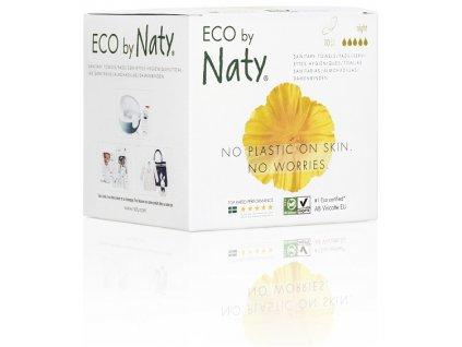 Naty Nature Dámské ECO vložky Noční s křidélky 10 ks