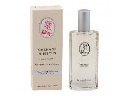 Plantes & Parfums Toaletní voda EDT Granátové jablko - Ibišek 100 ml