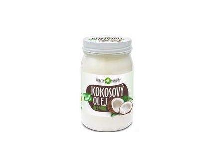 Purity Vision Bio Kokosový olej bez vůně 420 ml