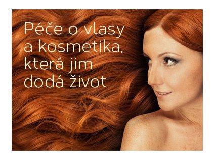 Péče o vlasy a kosmetika, která jim dodá život