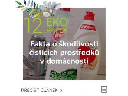 EKOPÁTEK - Fakta o škodlivosti čistících prostředků v domácnosti