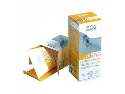 Eco Cosmetics Opalovací krém SPF 20 BIO 75 ml