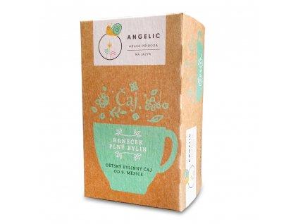 Angelic Hrneček plný bylin dětský bylinný čaj 30 g