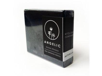 Angelic Mýdlový fondant Aktivní uhlí 105 g
