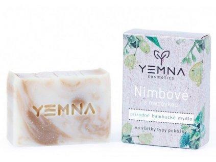 Yemna Přírodní mýdlo Nimba s meduňkou 100 g
