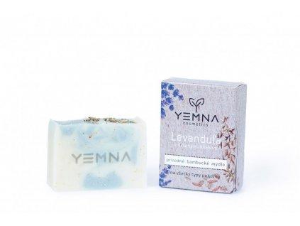 Yemna Solné mýdlo Levandule s kokosovým mlékem 100 g