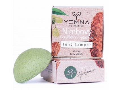 Yemna Tuhý šampon Nimbový s meduňkou a cedrem 55 g