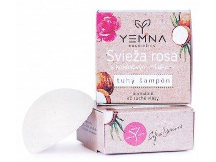 Yemna Tuhý šampón Svěží rosa 55 g