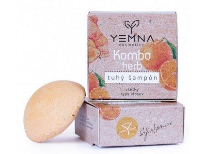 Yemna Tuhý šampón Kombo Herb 55 g
