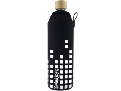 Drinkit Skleněná láhev s neoprénovým obalem Equalizer 700 ml
