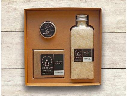 Dárková krabička Angelic Koupelová sůl Očišťující Mrtvé moře